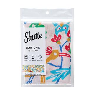 オリジナルイラスト柄のタオル(Shutteシュッテ)が発売されました。