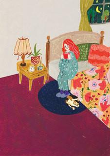 【お仕事】冊子「and I Love Frecious」のメインイラスト/富士山の銘水