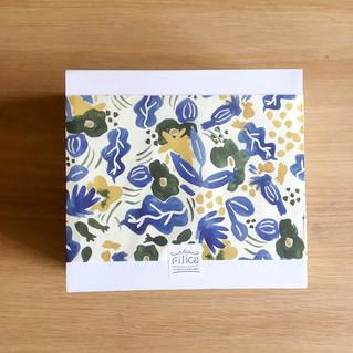 【お仕事】焼き菓子のお店Filicaさんのオリジナル包装紙