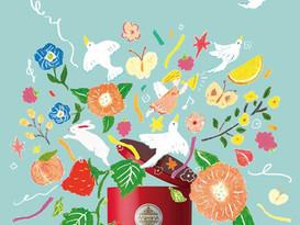 「Tea is Wonderful」-ムレスナティー35周年-の書籍表紙・挿絵のお仕事(前半)