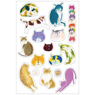 【お仕事】クリエイター応援サイト「みっけ!」にて猫シール作りました