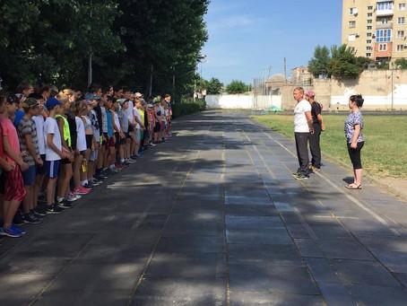 Муниципальные соревнования в рамках 30 Всероссийского дня бега.