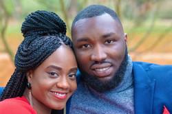 Elder Daniel Agyeman & Mrs Leona Agyeman