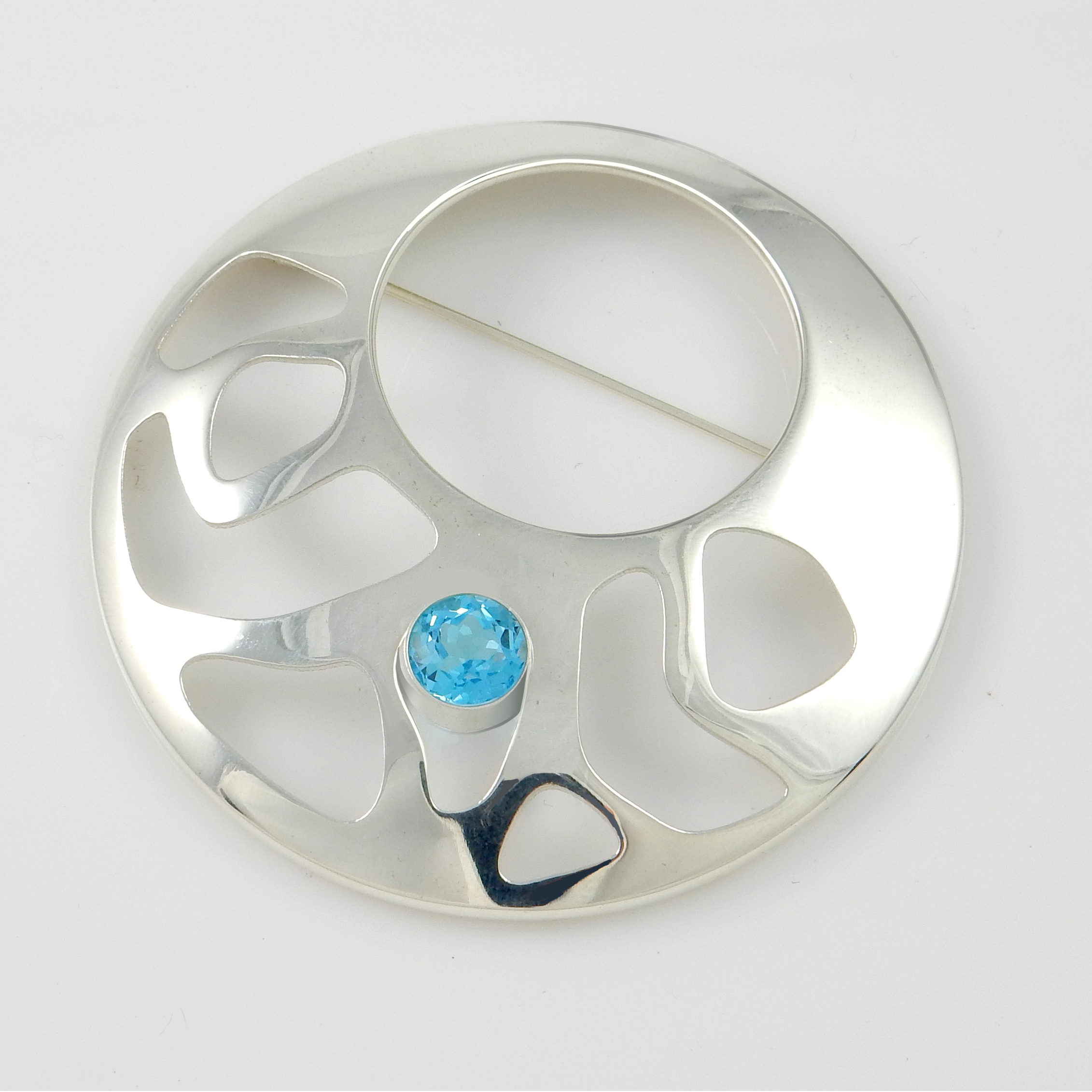 Skylight Brooch