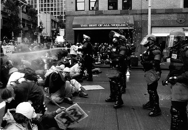 WTO Protests_Seattle_1999_Real Change.jp