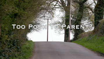 Too Posh to Parent?, Lime Pictures, C4
