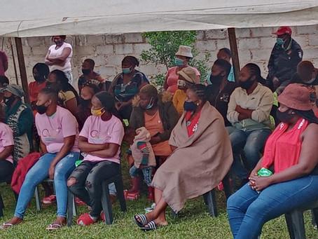 Action community dialogue at KaNyamazane