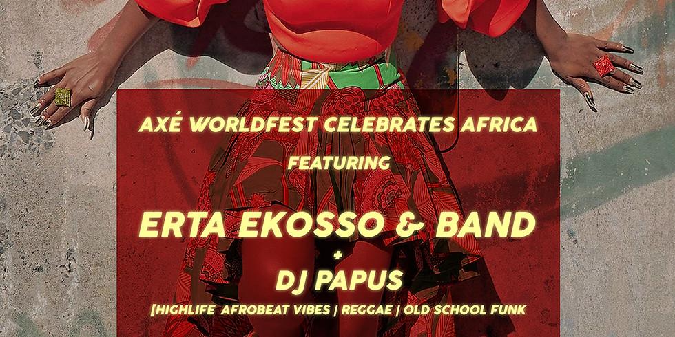 Erta Ekosso & Band + DJ Papus *Highlife Afrobeat Vibes