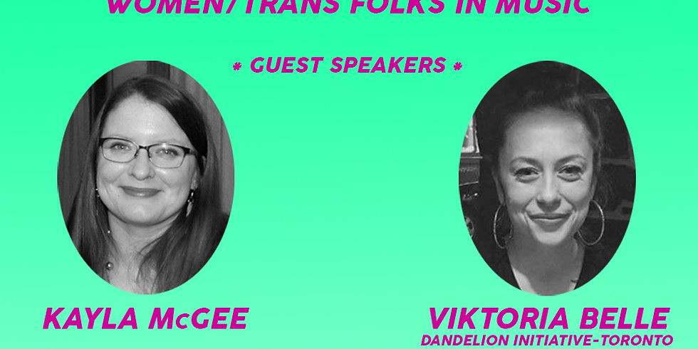 Reclaiming Our Voices: Safety and Dignity for Women/Trans folks in Music