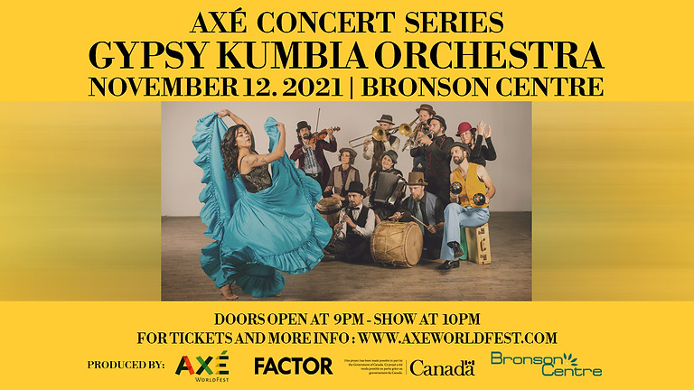AXÉ Concert Series Featuring Gypsy Kumbia Orchestra