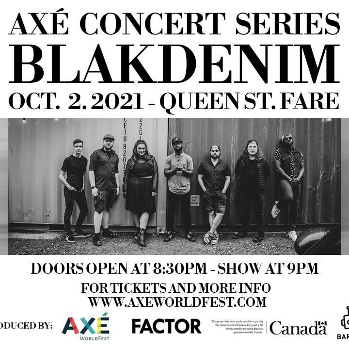 AXÉ Concert Series Featuring BlakDenim