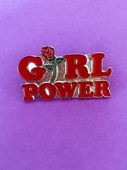 Broche Girl Power