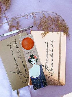Le cahier Raichô + le marque page by Witch Saloon