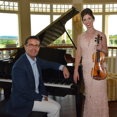 With pianist Michael Faircloth