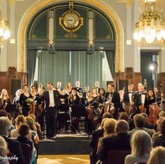 Concertmaster in Smetana Hall