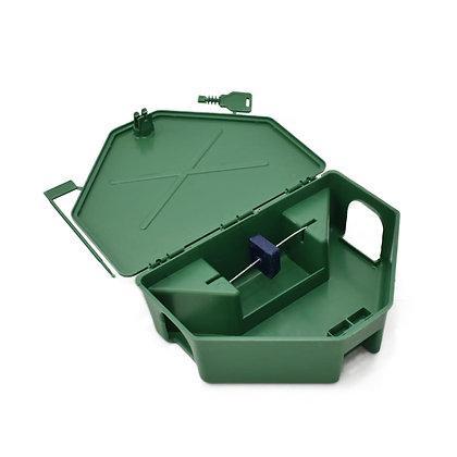 Caixa Porta Isca para Raticidas - Verde - Agroinset