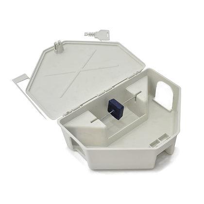 Caixa Porta Isca para Raticidas - Branca - Agroinset