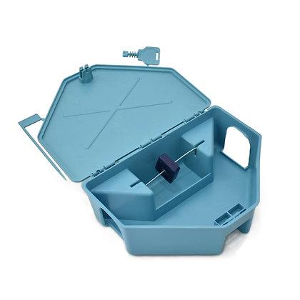 Caixa Porta Isca para Raticidas - Azul - Agroinset