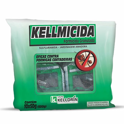 Kellmicida - Formicida Isca Granulada - 500 g - Kelldrin