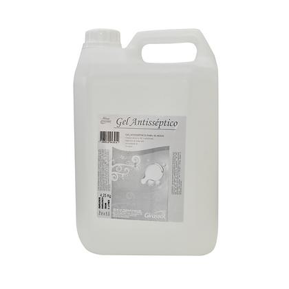 Álcool Gel 70% - Antisséptico Para As Mãos - 4,5 Kg - Girassol