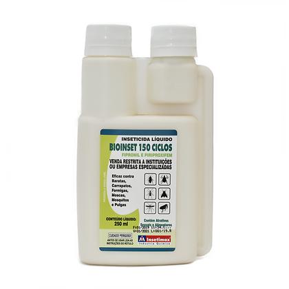 Bioinset 150 Ciclos - Inseticida Líquido - 250 ml - Insetimax