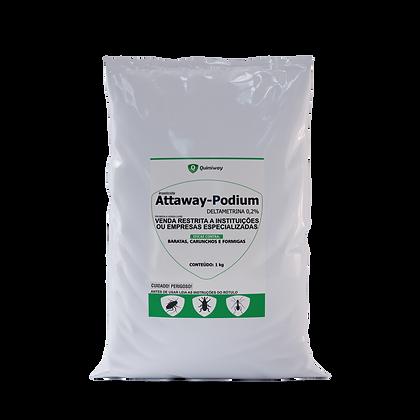 Attaway Podium - Inseticida em Pó - 1 Kg - Quimiway