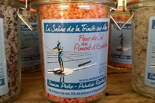 Fleur de sel au Piment d'Espelette 125g