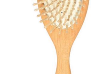 Brosse à cheveux hêtre/picots bois