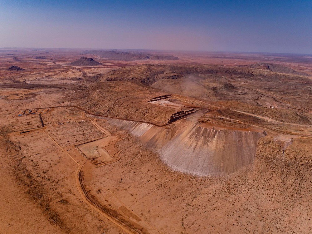 Gamsberg zinc mine, 2017