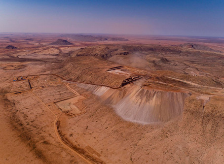 Extraction old and new: mining the desert in southwestern Africa