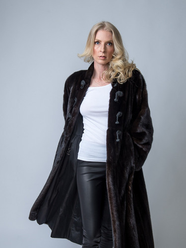 Vintage Natural Blackgama Mink Coat Size Medium $2,000