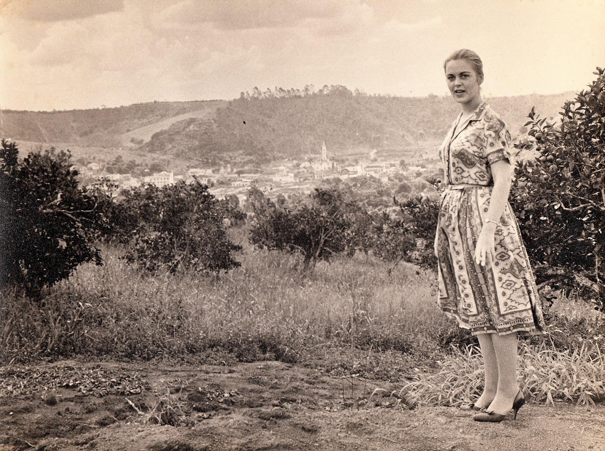 Joanne in Viçosa, Brazil - 1961