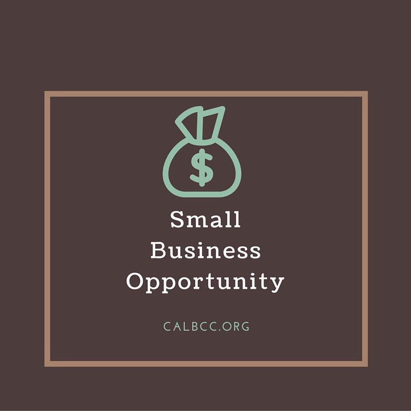 Small Business Opportunity