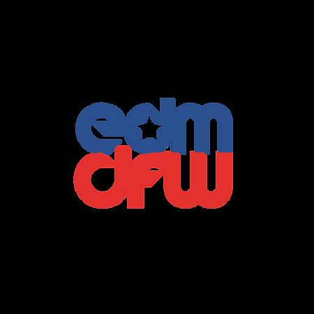 EDM DFW Script Logo