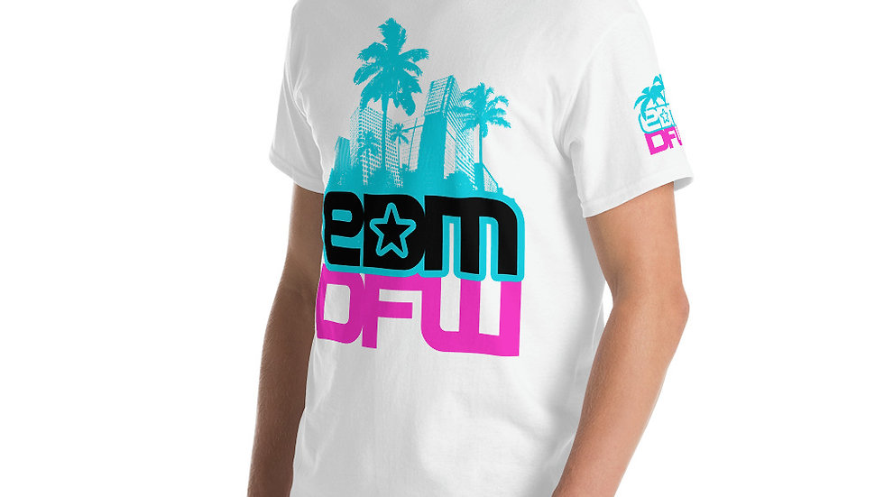 EDM DFW Miami City Shield T-Shirt