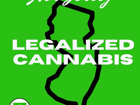 Cannabis is Legal in New Jersey