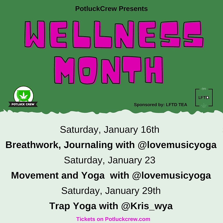 Wellness for January with Potluckcrew