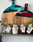 Resin Chopping Boards and nifty gift ware Hand crafted by 2548 Art at Sandys Grooming Tails & K9 Cafe