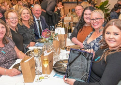 Sandys Grooming Tails team Business awards 2021