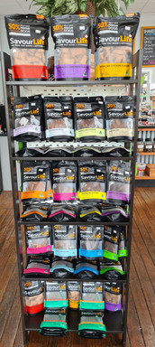Savour Life treats available at  Sandys Grooming Tails & K9 Cafe