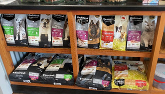 Black Hawk food available at Sandys Grooming Tails & K9 Cafe