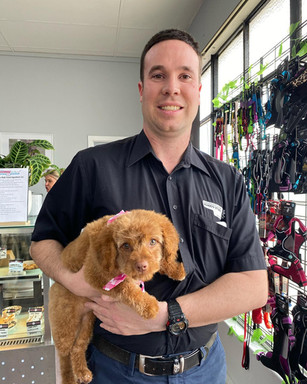 Christian and Lottie are very special customers here at  Sandys Grooming Tails & K9 Cafe
