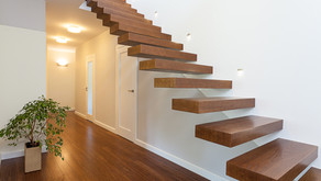 Question: We have a two-story house with open stairs. Should we close them? What can we do with ...