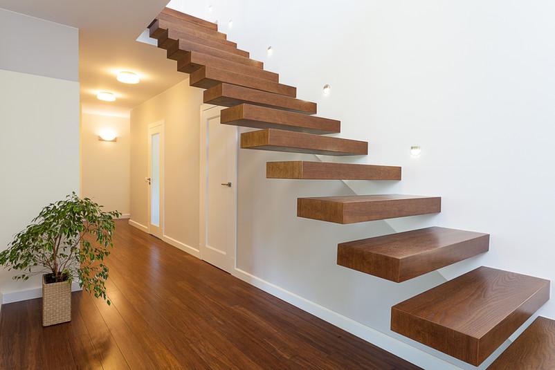 Escalier en bois AGENCE IMMÖÖ DUCAIR A VENDRE BARENTIN ROUMARE SAINT PIERRE DE VARENGEVILLE JUMIEGES