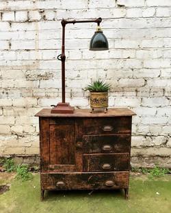 1930's Dugdills Patent Lamp