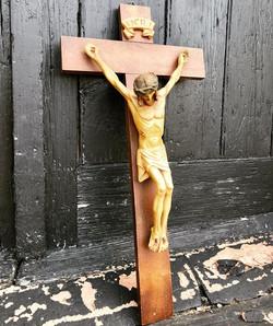 INRI Jesus On Crucifix