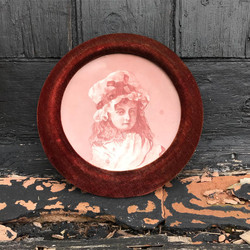 Velvet Framed Plate