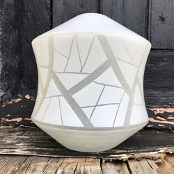 1960's Frosted Glass Shade