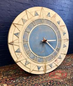 """42"""" Art Deco Factory Clock"""