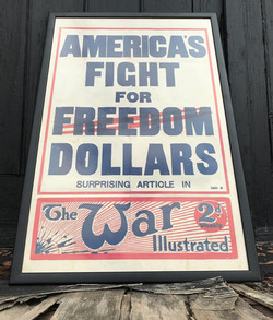 Original 1915 War Illustrated Poster